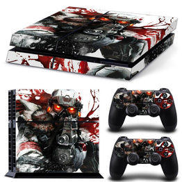 Blood Design Decal Protective Sticker For PS4
