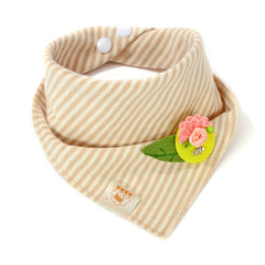 1pcs Baby Bibs Cotton Flower Bibs Infant Babador Saliva Bavoir Towel