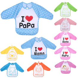1 Pcs Baby Over clothes Inside Your Baby To Eat Clothes