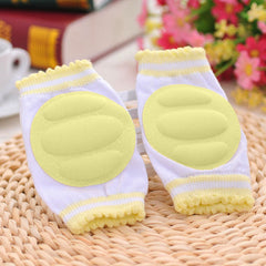 1 Pair Kids Children Safety Crawling Elbow Cushion Infants Toddlers Baby Knee Pads