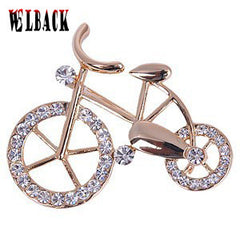 Bicycle Pectoral Trendy Brooches for Men & Women