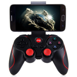 Wireless Bluetooth Gamepad Joystick for Android Smartphone With Holder