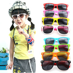 Boy Girl Sunglasses Child Sun Glasses Anti-uv Baby Sun-shading Eyeglasses Kids