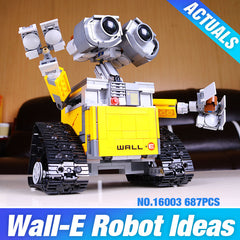 Robot WALL E Building Bricks Blocks Set