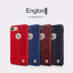 Vintage PU Leather back Cover Case for iphone 7