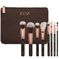 Rose Golden Makeup Brush Luxury Eyeshadow Eyeliner 8pcs set
