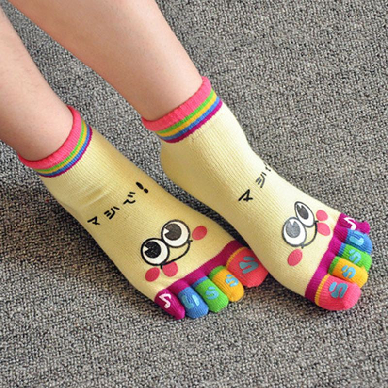 1 Pair Kids Socks Creative Cute Cotton Ankle Socks