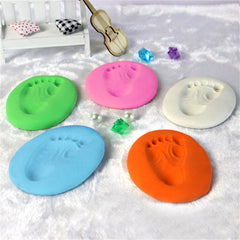 Air Drying Soft Clay Baby Handprint and Footprint Imprint Kit