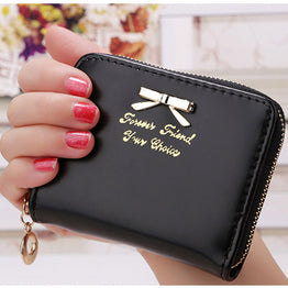 Korea Fashion high quality faux leather wallet for Women
