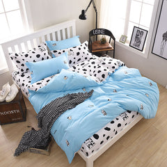 Cows Bedding Set 4pcs/3pcs Duvet Cover Sets