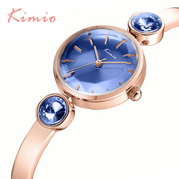 Gemini Rhinestones Top Luxury Brand Quartz Bracelet Watch