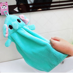 Cute Softy Animal Design Bathroom Hand Towel