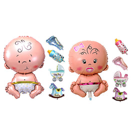 Baby Shower Foil Balloons 5pcs/set