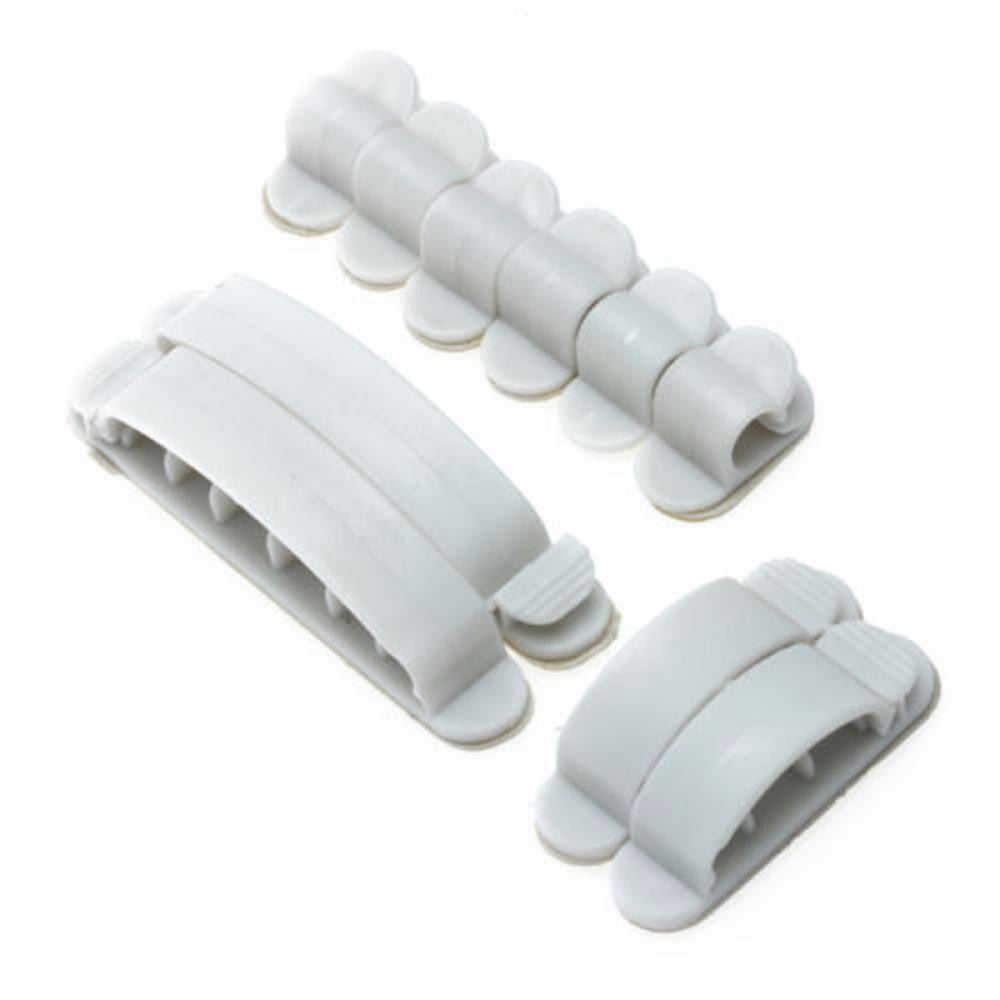 10pcs/set Adhesive Household cable Holders Electric Wire Collector