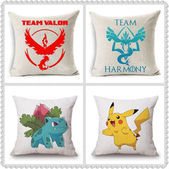 Pokemon Go Cushion Covers Cartoon Home Decor