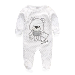 New Newborn Baby Boy/Girl Long Sleeve Romper Clothes