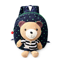 Baby Toddler Walking Keeper Bear Backpack Strap Anti Lost with Harnesses