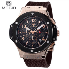 2016 Megir Fashion Military Men Sport Watch