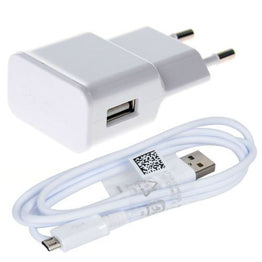 Power Charger Adapter & Micro usb charging cable for Samsung Galaxy