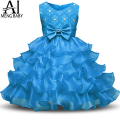 Sleeveless Girls Princess Party/Birthday Vestidos Dress