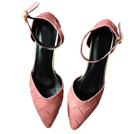 Summer Pointed Tow Low Heels Sexy Shoes