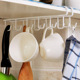 12 Hooks Multi functional Shelf Hanger