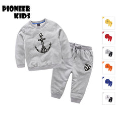 Kids Sports Suit for Baby Boys with Long Sleeve