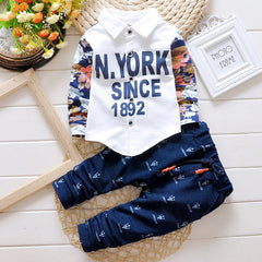 Fashionable Top Shirt and Pants Clothing Set for Kids