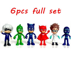 Pj Masks Action Figure Toys 6pcs/set 8-9cm