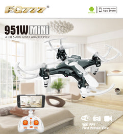 WIFI Mini Pocket Drone FPV 4CH 6-axis gyro Quadcopter with 30W Camera Smartphone