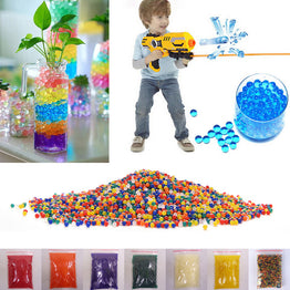 Colored Orbeez Soft Water Paintball Nerf Gun 5000-10000pcs/pack 9-13mm