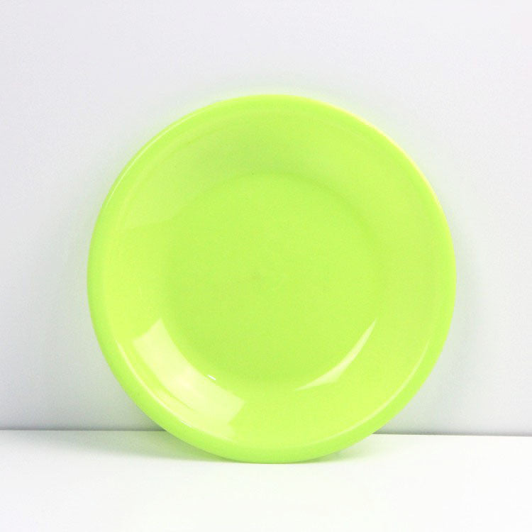 9 inch PP plastic solid circular plate for Dinner ware