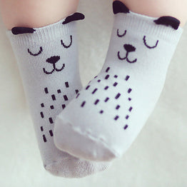 Unisex Comfy Cotton Soft Baby Socks