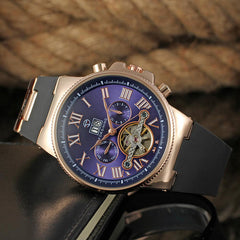 FORSINING Luxury Automatic Male Tourbillon Mechanical Watch