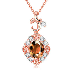 Austrian Crystal Charming Gold Plated Cubic Zirconia Jewelry