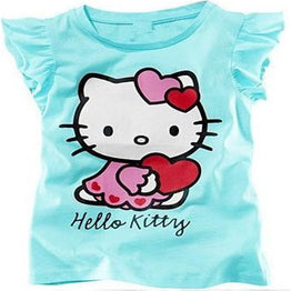 Hello Kitty Baby Girls Cotton T Shirt for Summer