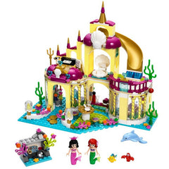 Princess Mermaid Undersea Palace Building Bricks Blocks