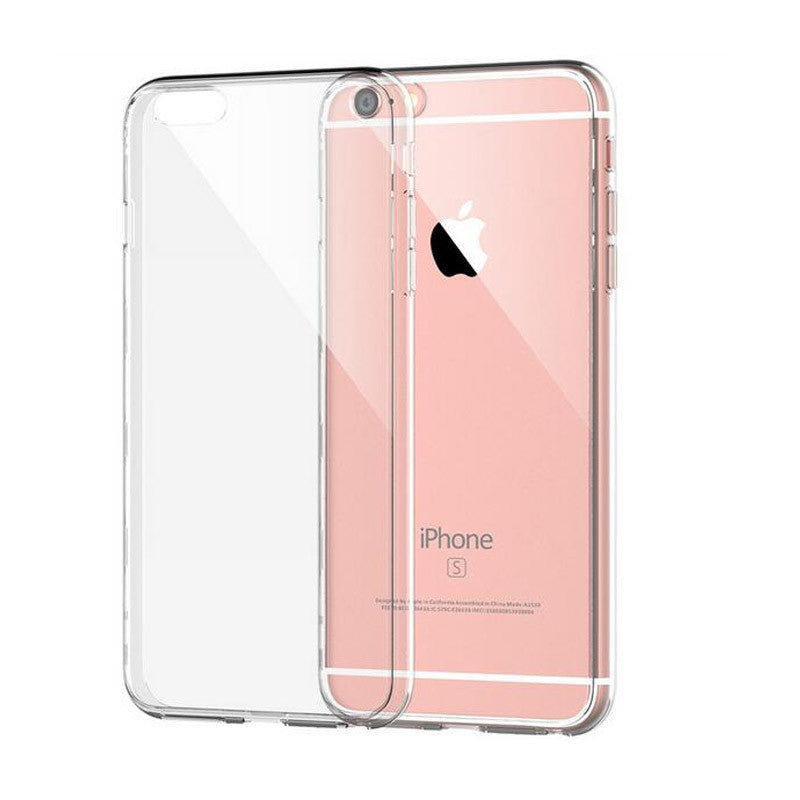 Apple iPhone 6 6s Case Slim Crystal Clear TPU Silicone Protective