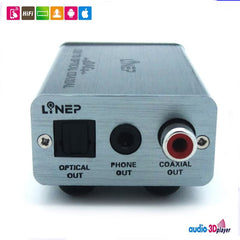 Hi-Fi Audio USB To Optical Decoding Output Headphone/Speaker Amplifier