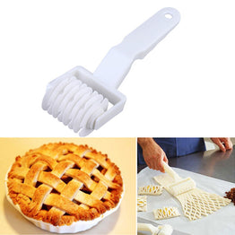 Pastry Roller Cookie Pie Pizza Bread Pastry Lattice Cutter Small Size