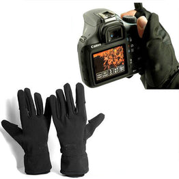 Waterproof photographic gloves Anti-skid