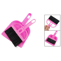 Amico Office Home Car Cleaning Mini Whisk Broom Dustpan Set