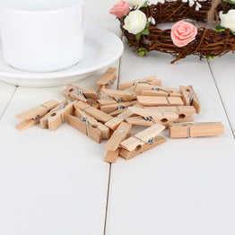 Color Wooden Clothespin Clips Craft Kids Scrapbooking Decor