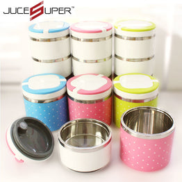 Stainless Steel+PP Bento Food Container Dinnerware Sets