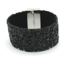 Aesthetic Trendy Stone Leather Bracelets For Women