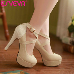 Fashionable Women Pumps High Heels Shoes