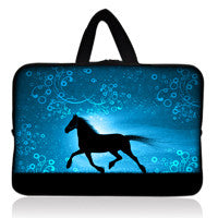 Waterproof soft and comfortable printing notebook laptop bag 12 styles 7 inches