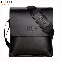 Acclaimed Casual Leather Crossbody Bag Bolsas Male
