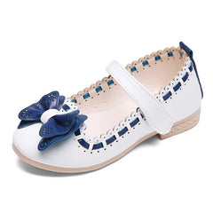 Butterfly-Knot Princess Leather Sandals / Shoe for Baby Girls