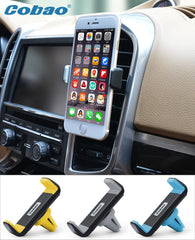 Universal mobile phone holder stand car air vent mount holder
